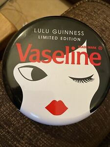 Lulu guinness Vaseline Tin with 3 x Vaseline Jars LIMITED EDITION (Free Postage)