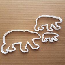 Polar Bear Animal Mammal Shape Cookie Cutter Dough Biscuit Pastry Fondant Sharp
