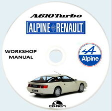 Renault Alpine V6 GT e V6 Turbo Catalogo riparazioni,workshop manul Alpine V6