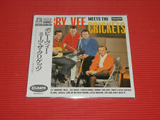BOBBY VEE MEETS THE CRICKETS WITH BONUS TRACK  JAPAN MINI LP CD
