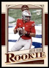 2021 Legacy Rookies Base #142 Justin Fields - Ohio State Buckeyes RC