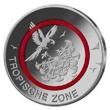 """Deutschland - 5 Euro 2017 - Tropische Zone - Prägestätte """"F"""" - stempelglanz"""