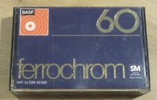 Cassette K7 Tape BASF 60 Ferrochrom Used