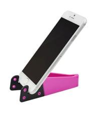 Mini Support Universel Pliable KickStand pour Smartphone et Tablette (Rose)