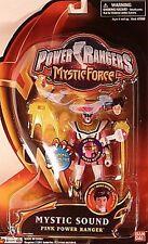 "Power Rangers Mystic Force 5"" Sound Pink Female Ranger Interchangeable Head MOC"
