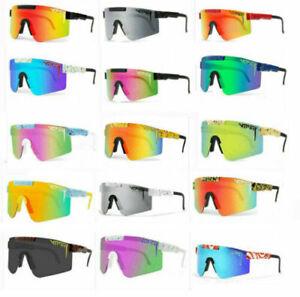 Original PIT VIPER Polarized Sunglasses Sport Goggles for Men/Women Outoor UV400