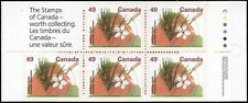 Canadá 1992, Booklet: Delicious apple, 5x0,49$ (**) UNC