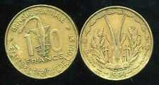 ETATS DE L'AFRIQUE DE L'OUEST  10 francs 1964