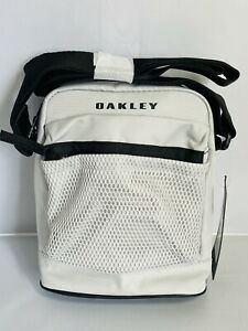 New W/tags Oakley Crossbody Bag Pack Sling Purse Carry Case Gray Ipad/ Multi Use
