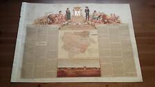 1875 MAPA Provincia de Albacete Marques de Molins Cromo Boronat y Satorre