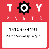 13103-74191 Toyota Piston sub-assy, w/pin 1310374191, New Genuine OEM Part
