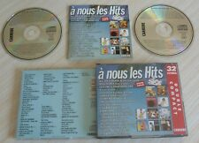 BOX 2 CD ALBUM A NOUS LES HITS VOL. 12 VERSION 32 TITRES 1990 COMPILATION