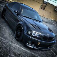 BMW E46 GTR M3 FRONT Bonnet Air Vent 4PCS