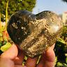 322g Natural Ocean Jasper Heart shaped Stone Quartz Healing Madagascar
