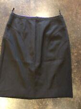 Jean Paul Gaultier black wool pencil skirt 42 6