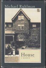 House : A Memoir by Michael Ruhlman (2005) Hardcover/DJ 1ST ED/1ST PR~OLD HOUSES