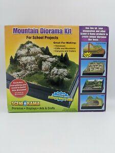 Mountain Diorama Kit Build Mountain Volcano Cliffs Scena A Rama