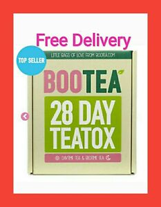 BOOTEA Teatox 28 Day Tea Bags 14 Bedtime Weight Loss Tea FREE DELIVERY GENUINE