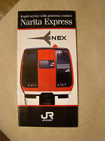 Narita Express - East Japan Railway Company - Timetable - Brochure - Mar. 1991