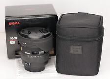 Sigma 10-20mm f4-5.6  EX DC Auto Focus Canon EF-s Fit lens (4526BL)