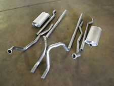 FORD FAIRLANE ZF ZG ZH TWIN SYSTEM KIT 2V 302 351  CLEVELAND DUAL SYSTEM NEW
