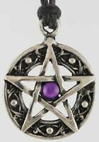 Charged Protection Amulet Pendant with Pentacle!