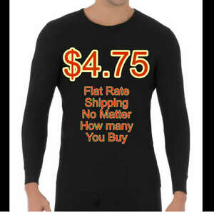 NEW Fruit of the Loom Mens Long Underwear Thermal Top or Bottom Size S - XL