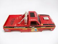Vintage Tamiya Clod Buster Chevy Truck Body Rock Crawler Scale Bowtie Grill 1/10