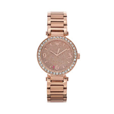 Juicy Couture Women's Victoria Crystal Stainless Steel Watch 1901320