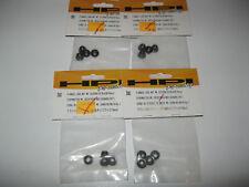 Z682 - Lot de 4 sachets écrous de blocage noirs M5 - HPI Racing