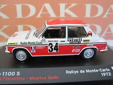 Die cast 1/43 Simca 1100 S Rally Montecarlo 1972 B.Fiorentino by Ixo