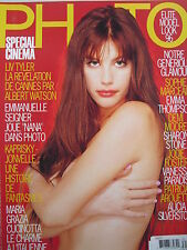 LIV TYLER  June 1996 FRENCH PHOTO  SHARON STONE  DEMI MOORE  JODIE FOSTER +++