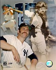 "Thurman Munson - New York Yankees 8"" x 10"" Licensed Photo"