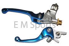 Super Mini Pocket Bike CNC Clutch & Brake Lever 110cc X15 X18 X19 X22 Blue Parts