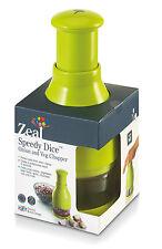 Celo rápida Dados Cebolla Y Verduras Chopper protección de los ojos chuletas rápidamente finamente & fácilmente