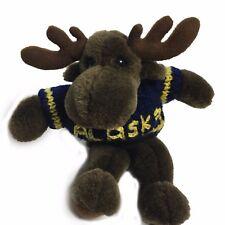 ARCTIC CIRCLE Alaska Plush Stuffed Reindeer Caribou Moose Elk