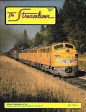 The Streamliner V5 N1 UP F9 Spokane International Como Bluff Wyoming  Fireman