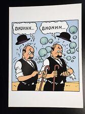 Carte postale Moulinsart Tintin à volet Ref 116 ETAT NEUF