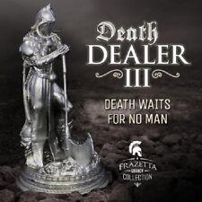Frazetta's Death Dealer III 6+ oz .925 Silver Antiqued Finish Figurine Statue
