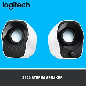 Logitech Z120 Stereo Computer PC Speaker with Easy Volume Control Knob
