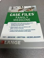 Case Files Family Medicine, Fourth Edition by Bruce S. Britton, Eugene C....