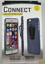 Nite Ize Connect Case for iPhone 6 6S Plus Slate with Removable Clip