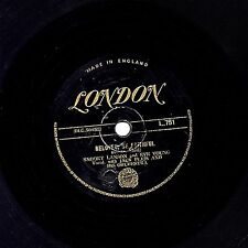 "RARE GOLD LONDON 78 SNOOKY LANSON + EVE YOUNG "" BELOVED BE FAITHFUL ""  L 751  V+"