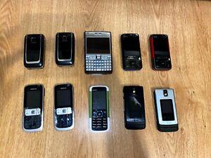 Very Rare Nokia Prototypes lot bundle Nokia E61i,  6650, 5610, 6136, 5000, 2630