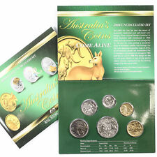 2004 Royal Australian Mint 6 Coin UNC Year Mint Set D5-3287