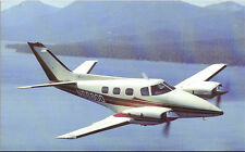 Vintage airplane postcard - Beechcraft Duke - Unused - EX Condition