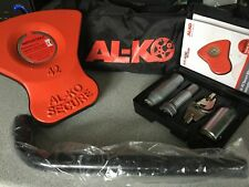 AL-KO ALKO Secure Wheel Lock Insert NO.42 Complete With 2 Keys Unregistered