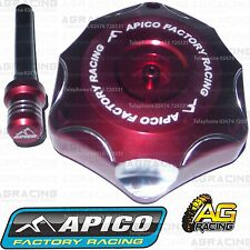 Apico Red Alloy Fuel Cap Breather Pipe For Honda CR 500 1990 Motocross Enduro