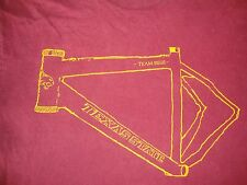 NCAA Texas State Bobcats Cycling Team issue Bicycle Rare T Shirt Adult Size M