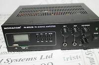 Monacor  PA-802USB mixer/amplifier with integral MP3 player. Rack mountable